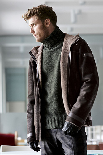 sheepskin jacket | Paolo Moretti Milan