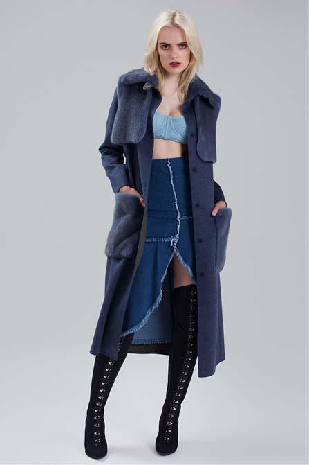 cashmere coat | Paolo Moretti