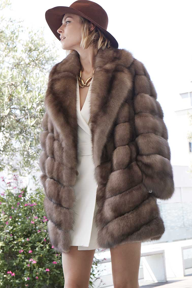 Russian Sable Fur Coats For Women, How Much Is A Sable Coat